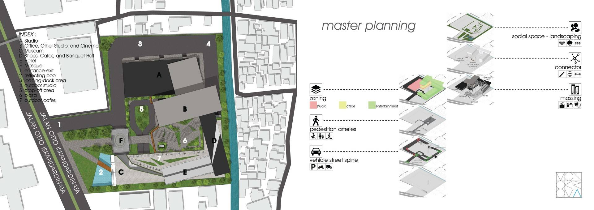 Monokroma Architect Pfn Movie Complex Jakarta Jakarta Masterplan Modern  530