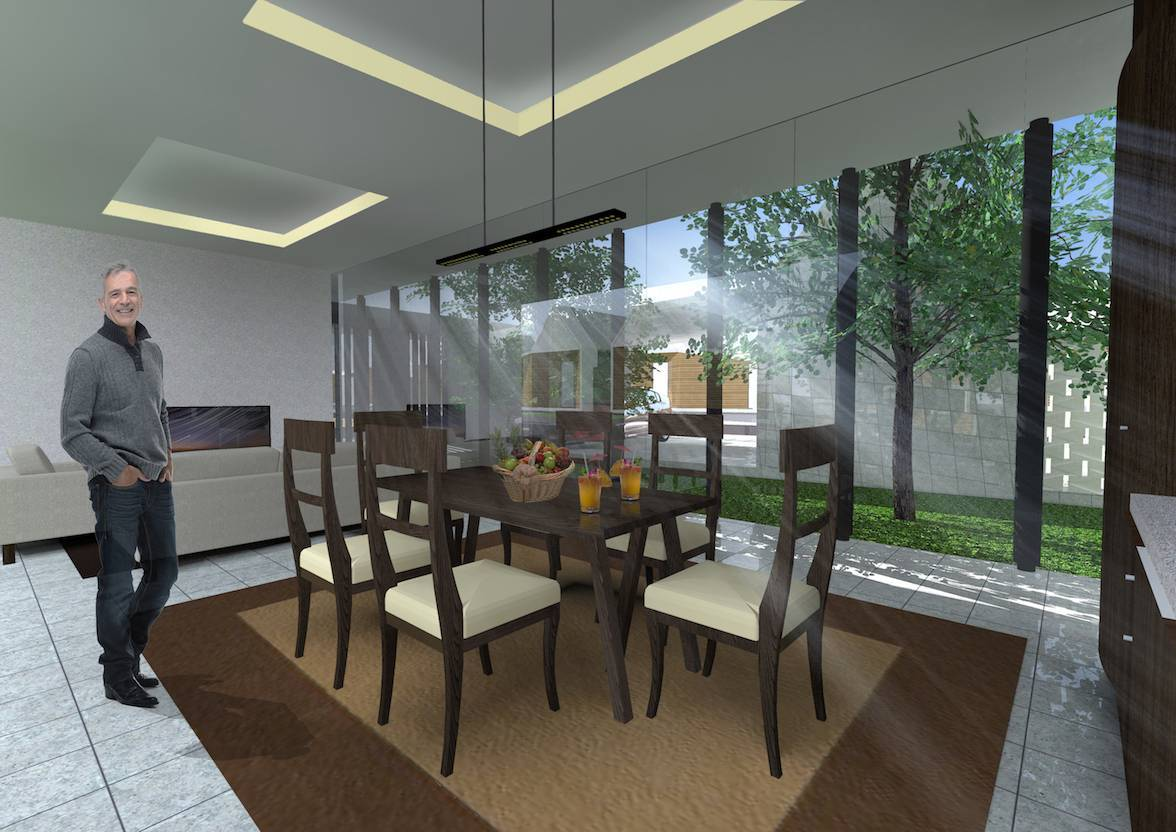 Monokroma Architect Banjarbaru Residence Indonesia Indonesia Dining Room Kontemporer  556