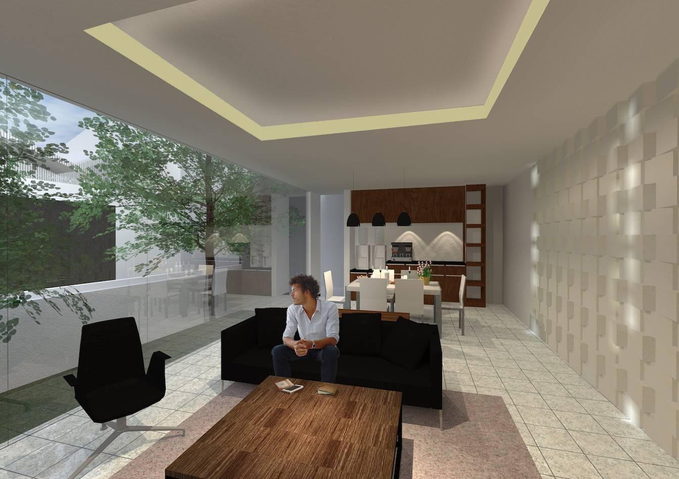 Monokroma Architect Banjarbaru Residence Indonesia Indonesia Living Room Kontemporer  562