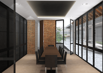 Monokroma Architect Saka Agung Abadi Indonesia Indonesia Meeting Room Modern  611