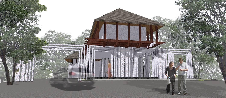 Monokroma Architect Saka Agung Abadi Indonesia Indonesia Facade Modern  612