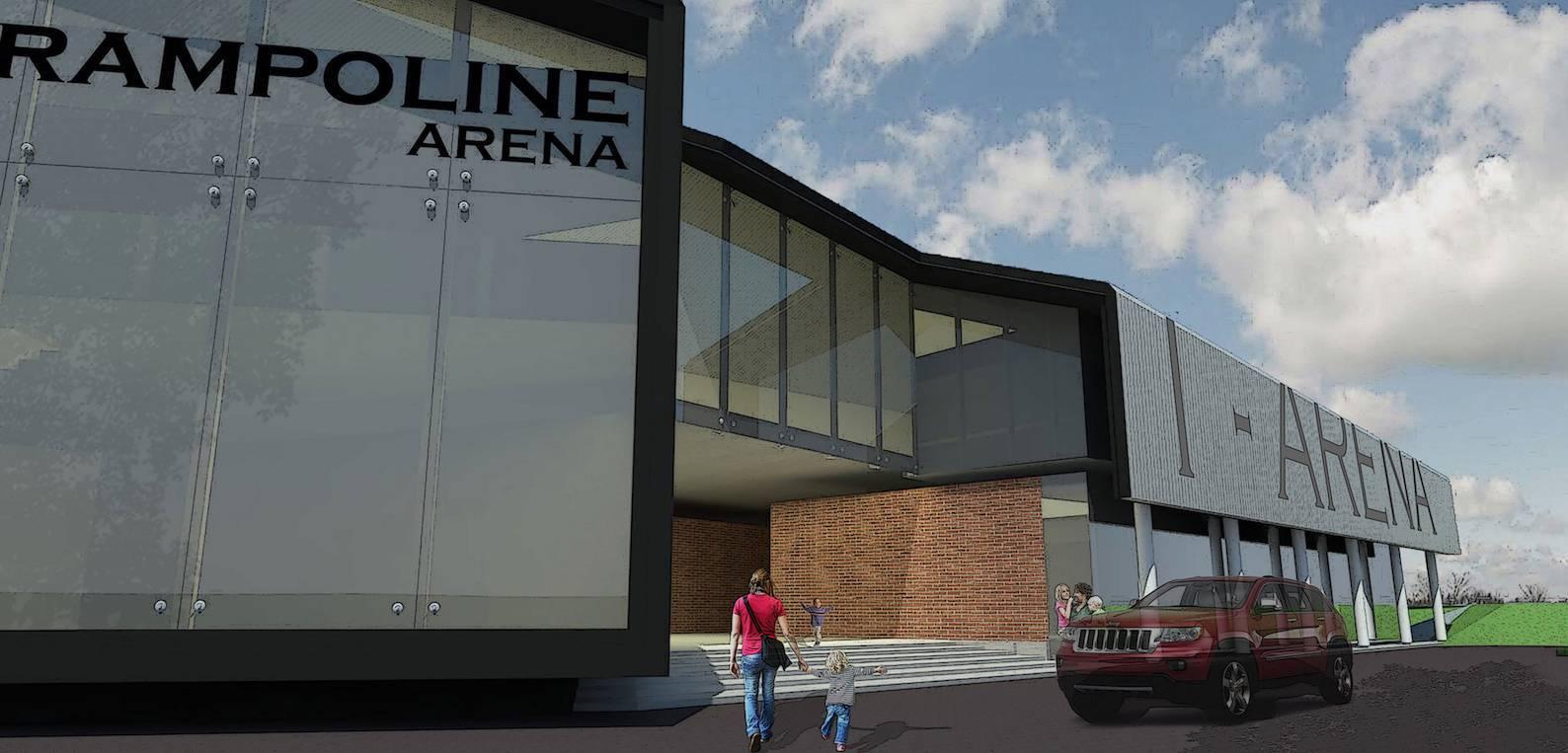 Monokroma Architect Trampoline Arena Serpong Serpong Drop Off Area Modern  589