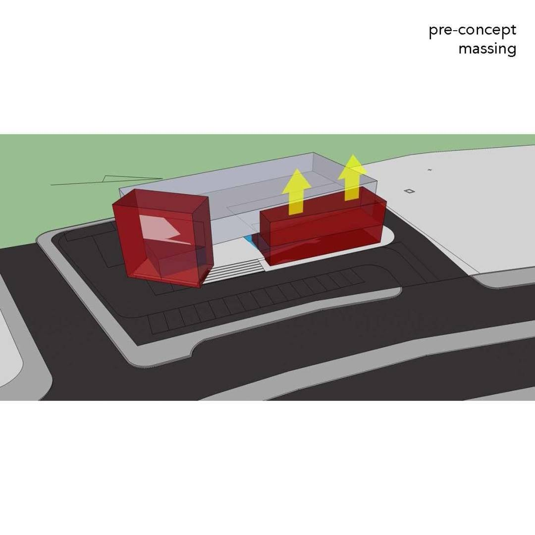 Monokroma Architect Trampoline Arena Serpong Serpong Pre-Concept-Trampoline-Arena Modern  595