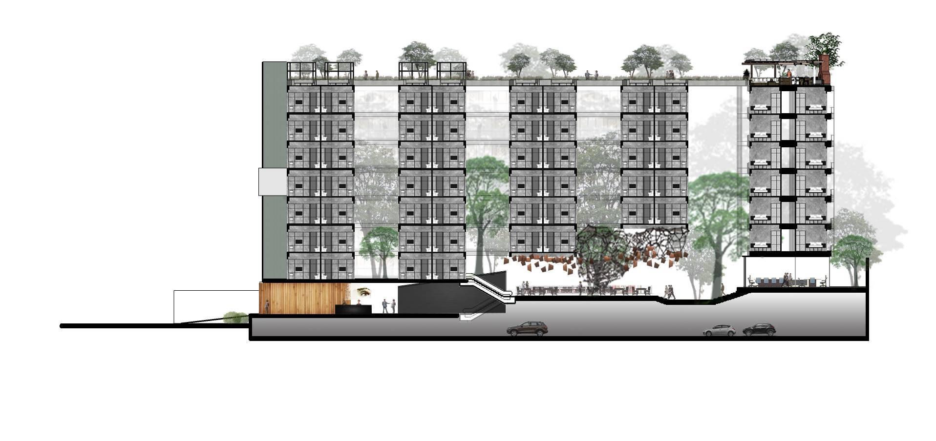 Monokroma Architect Hotel Lebak Bulus Lebak Bulus, Jakarta Lebak Bulus, Jakarta Masterplan Tropis  6230