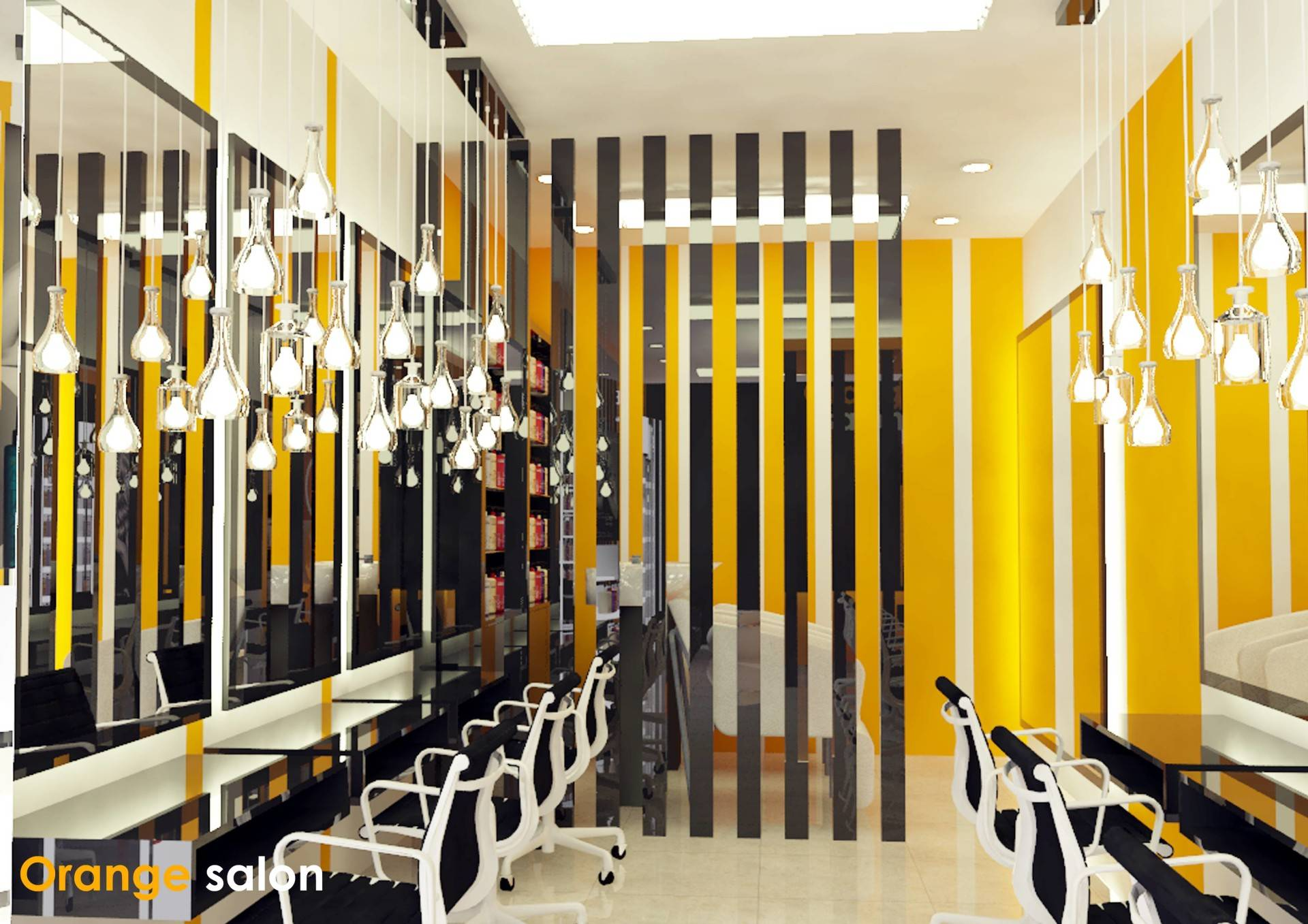 Irfanwidi Architects Orange Salon Bandung. Jawa Barat Bandung. Jawa Barat Orange3 Modern  5269