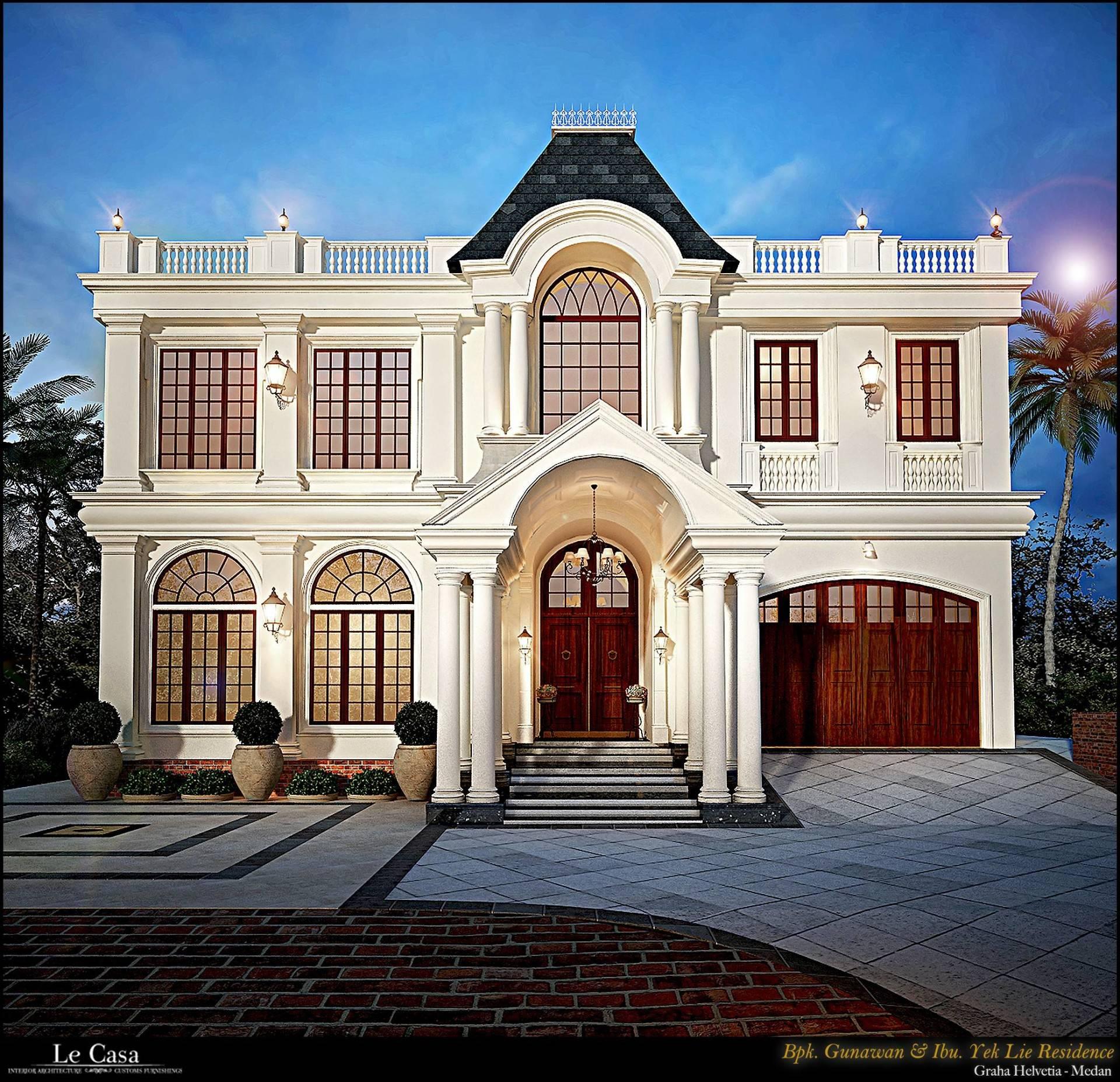 Emilia Oei Collonial Mansion Medan, Indonesia Medan, Indonesia Front View   5600