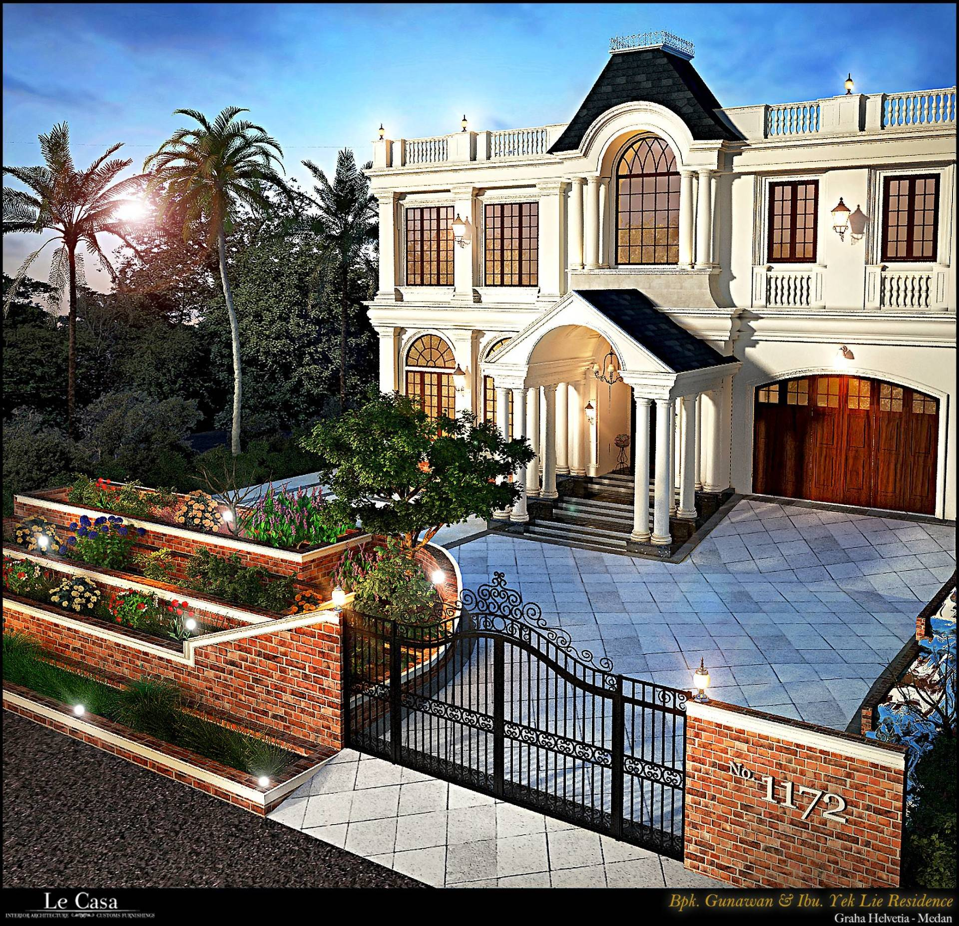 Emilia Oei Collonial Mansion Medan, Indonesia Medan, Indonesia Side View   5601