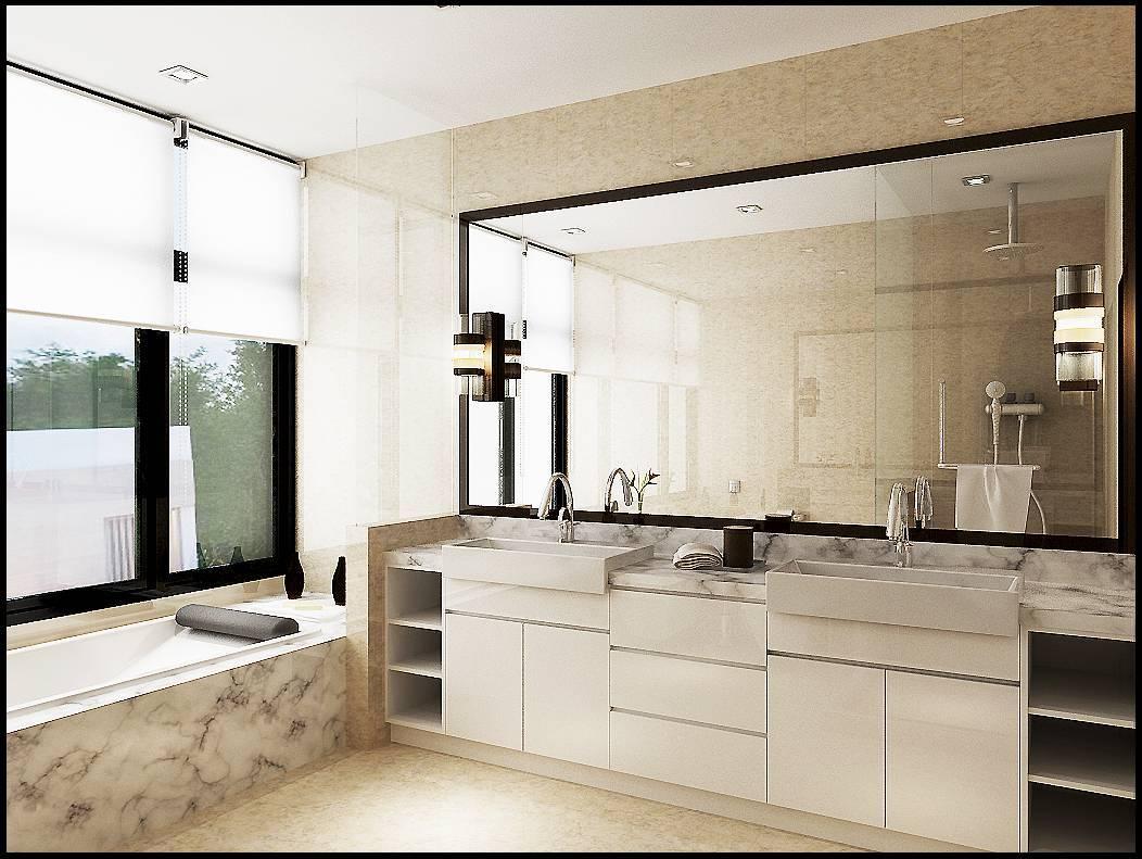 Emilia Oei White Box Residence Medan, Indonesia Medan, Indonesia Bathroom   5738