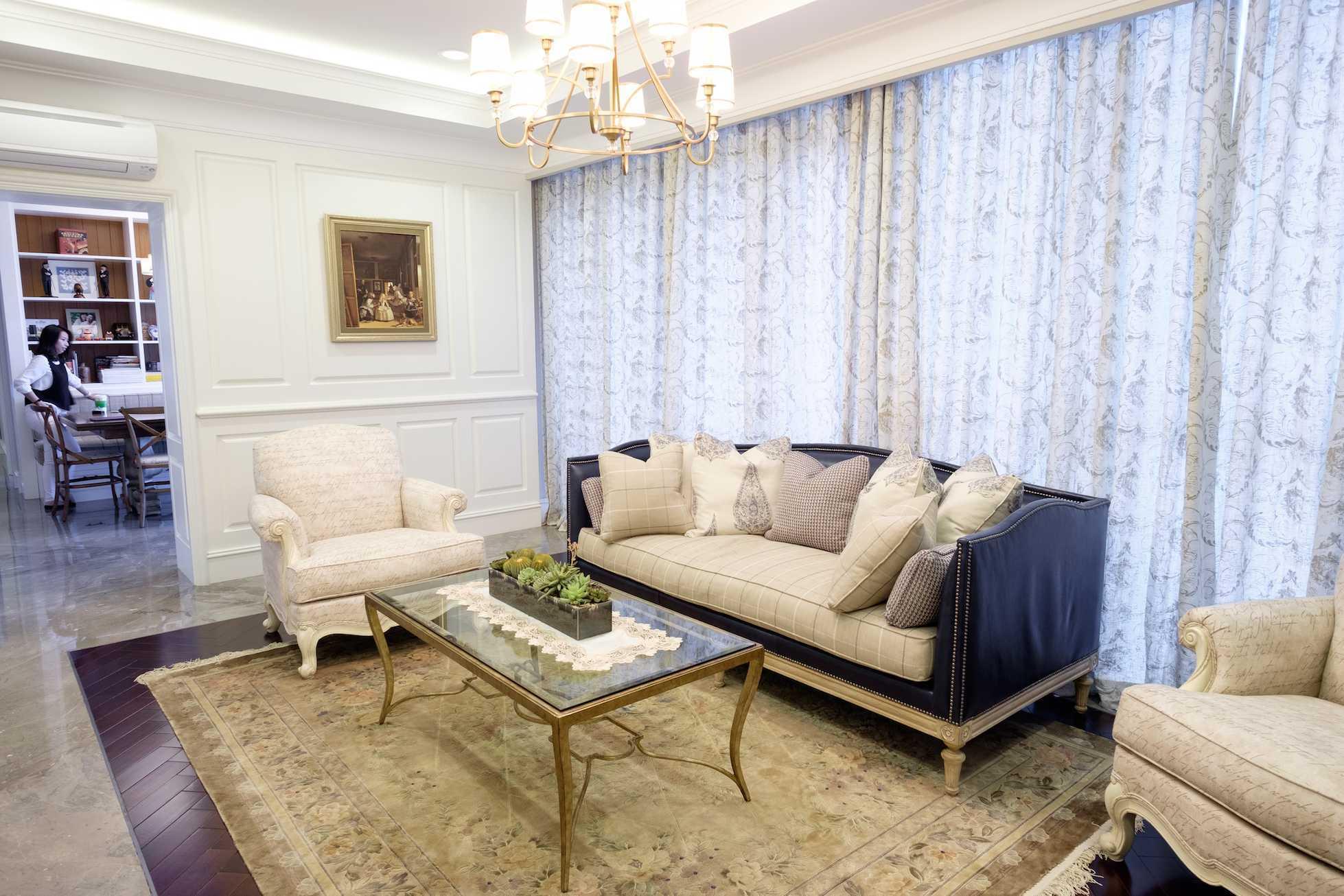 Emilia Oei Penthouse Residence In Jakarta Jakarta Jakarta Living Room   9758