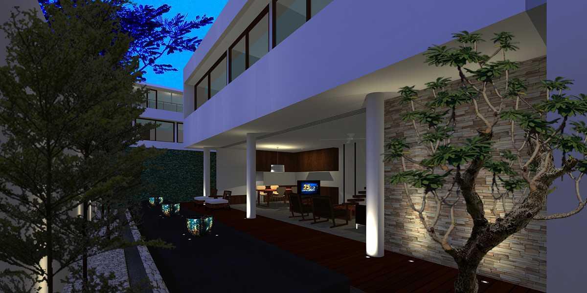 Herryj Architects Pilar House Kedoya Kedoya Blok-A2 Tropis  23980