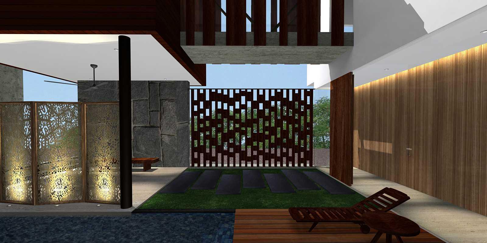 Herryj Architects Bridge House Jakarta, Indonesia Jakarta, Indonesia Wood-Partition Kontemporer  23907