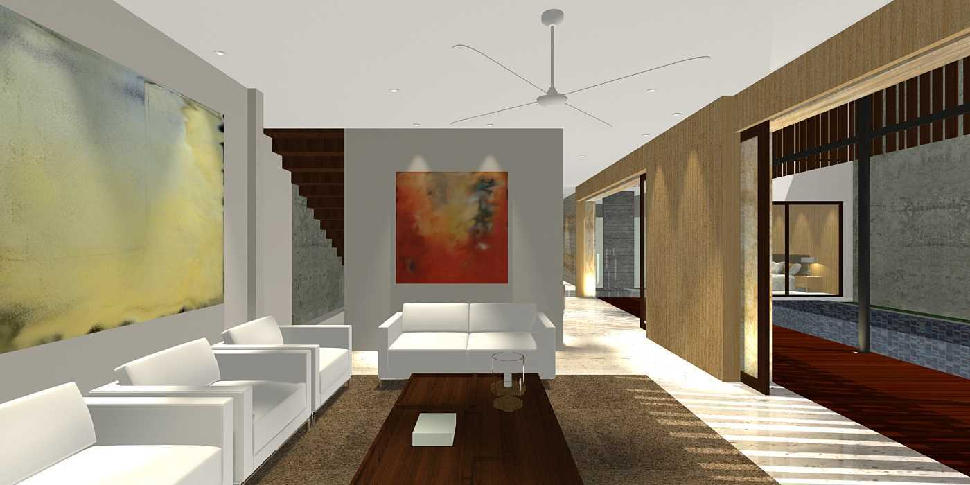 Herryj Architects Water House Jakarta, Indonesia Jakarta, Indonesia Living Minimalis  23915