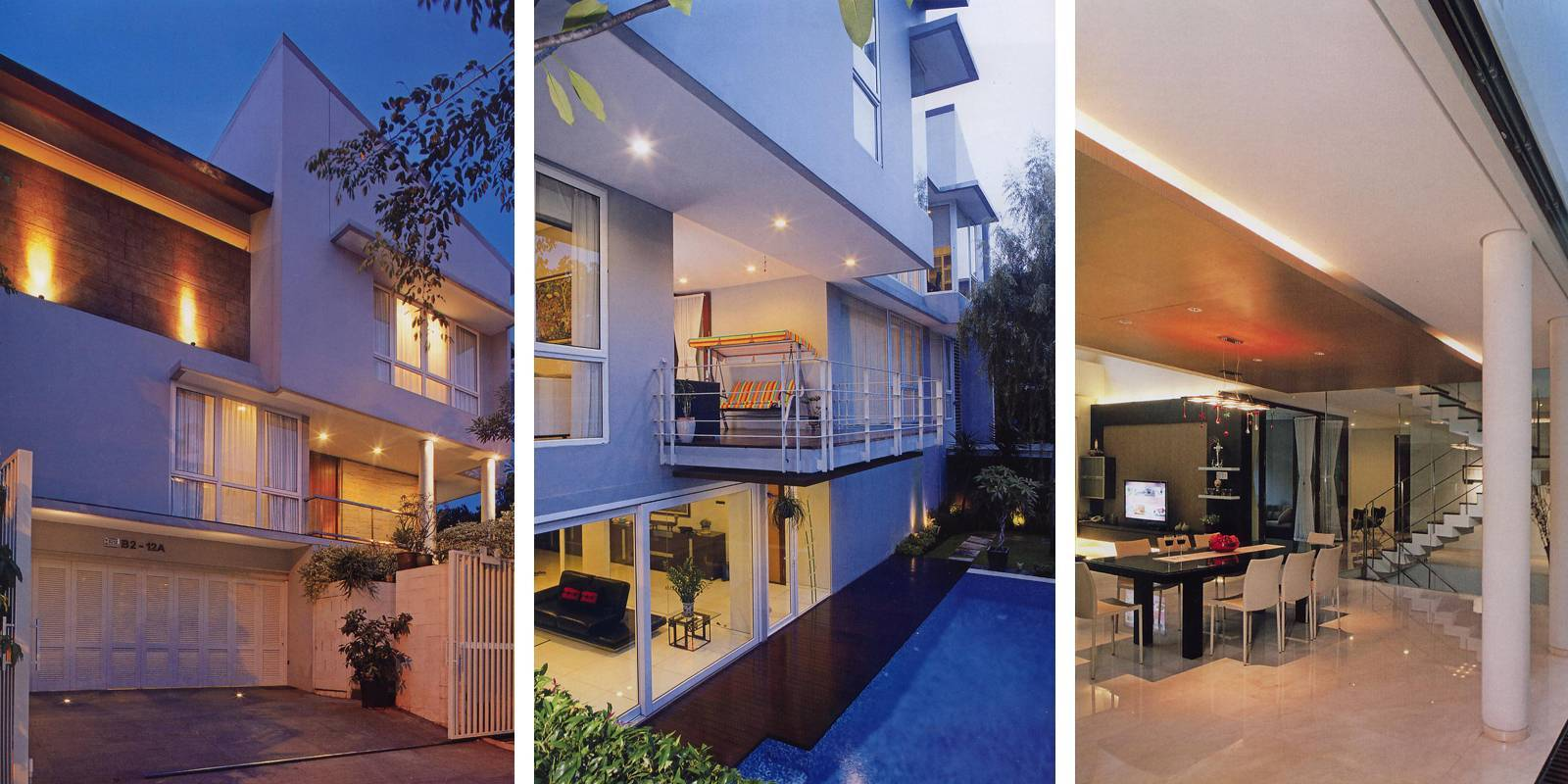 Herryj Architects Tidung House Jakarta Jakarta Foto-Collage Tropis  5592
