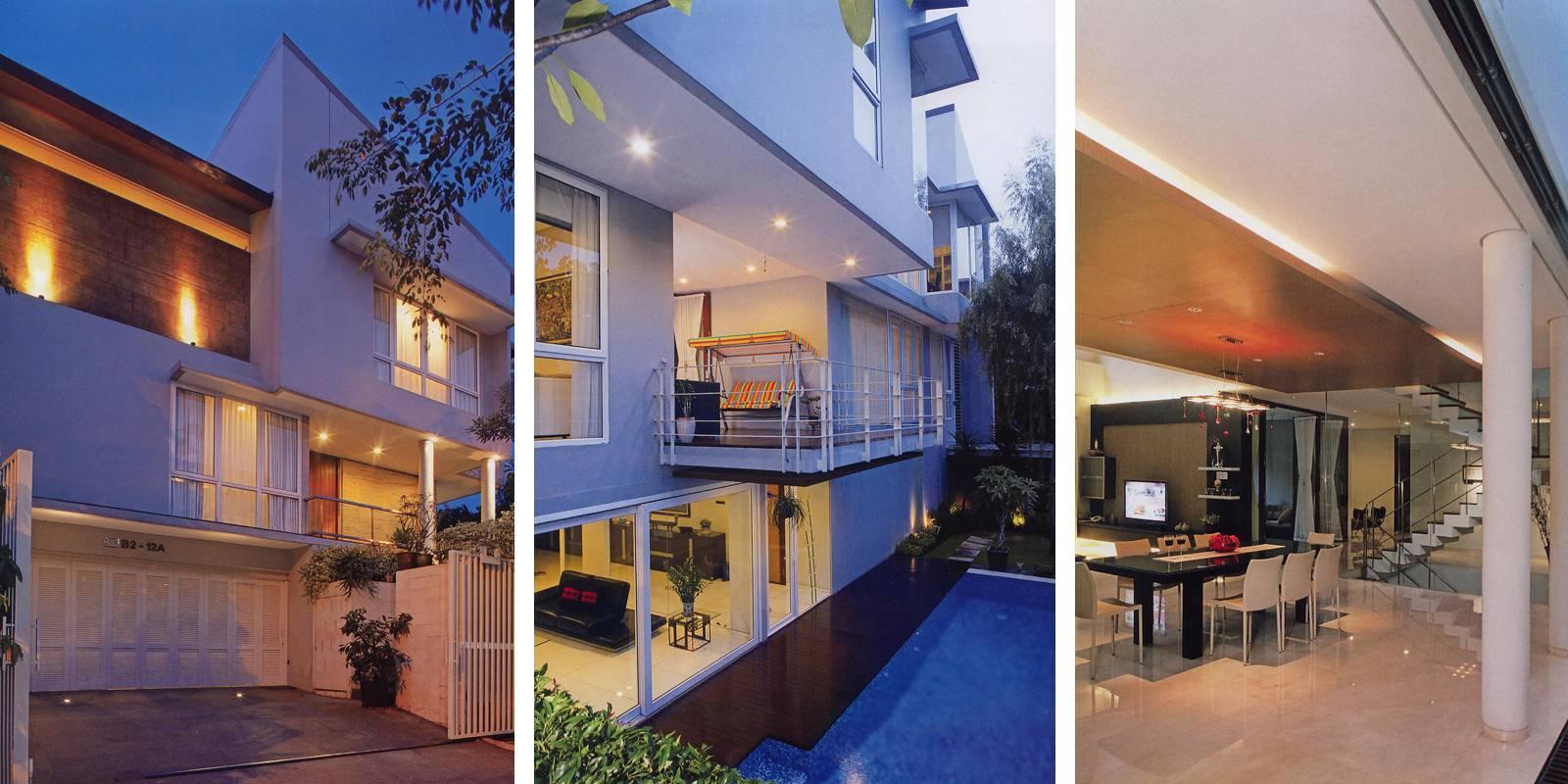 Herryj Architects Tidung House Jakarta Jakarta Foto-Collage Tropis  5592