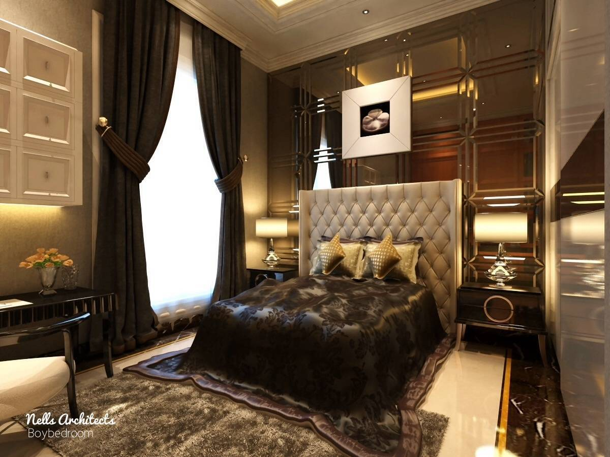 Nelson Liaw Hs House  Jakarta, Indonesia Jakarta, Indonesia Boy-Bedroom Klasik  5559