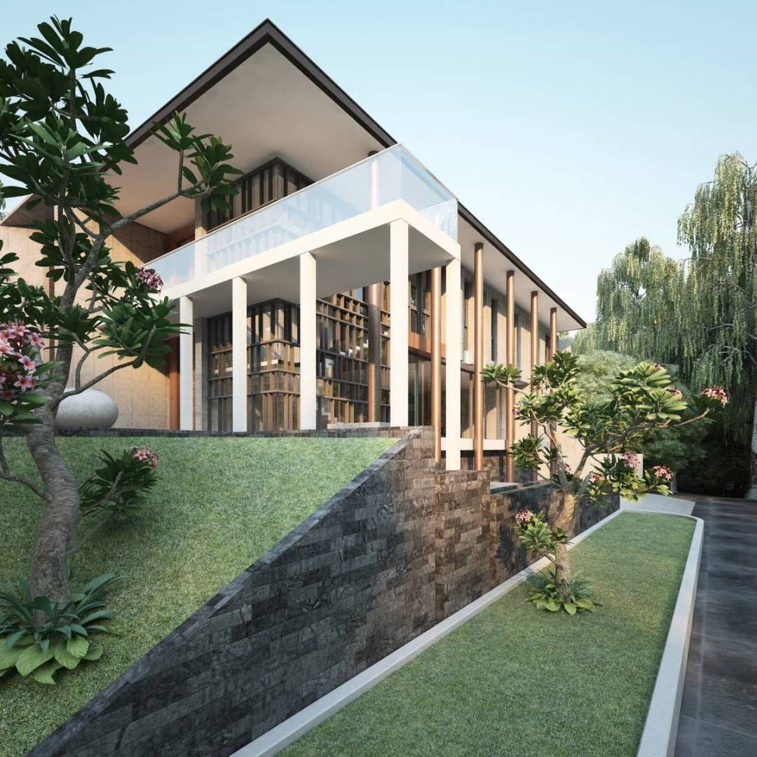 Nelson Liaw Al House At Alam Sutra Tangerang, Indonesia Tangerang, Indonesia Corner-View Kontemporer  5575