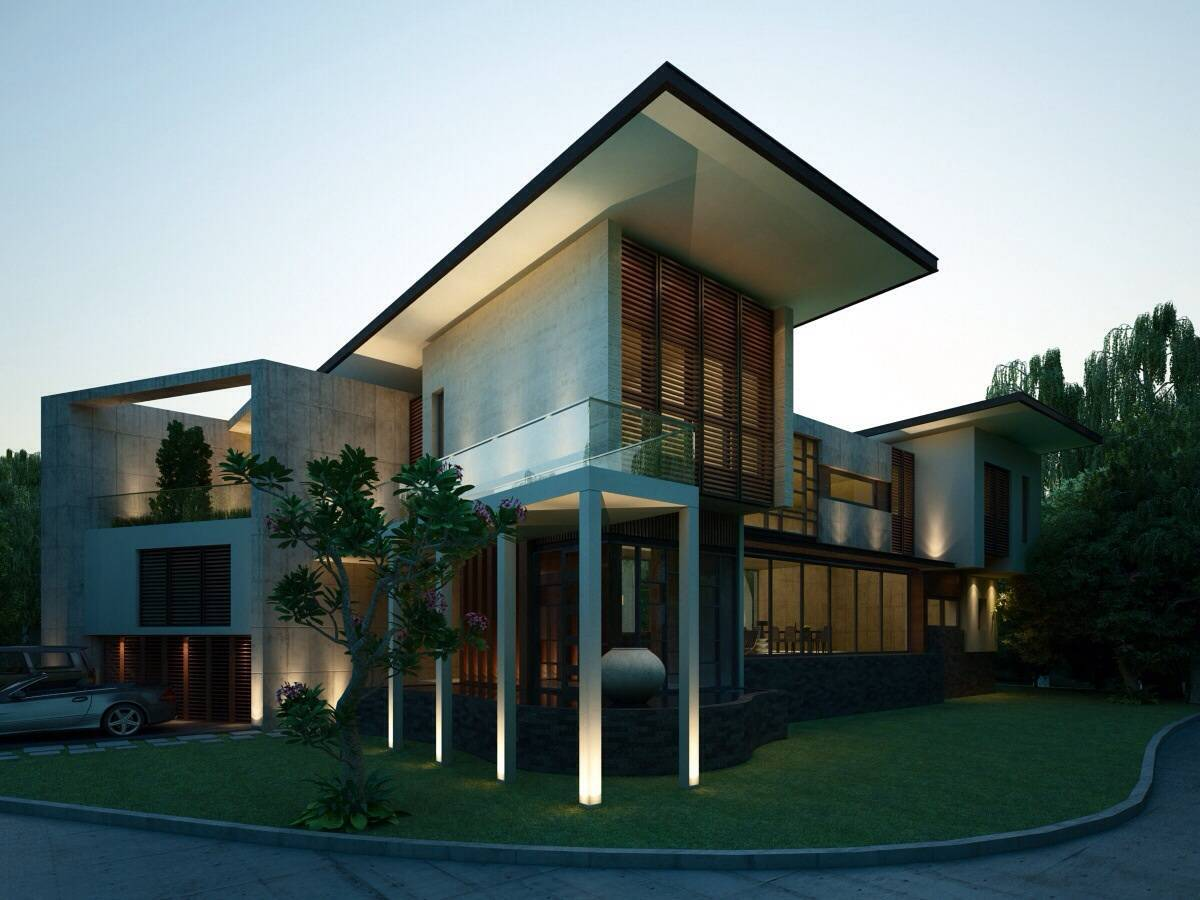 Nelson Liaw Tw House Serpong, Indonesia Serpong, Indonesia Corner-View Kontemporer  5597