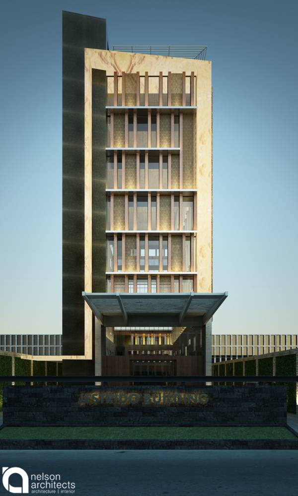 Nelson Liaw Js Office Building Jakarta, Indonesia Jakarta, Indonesia Front-View   5605