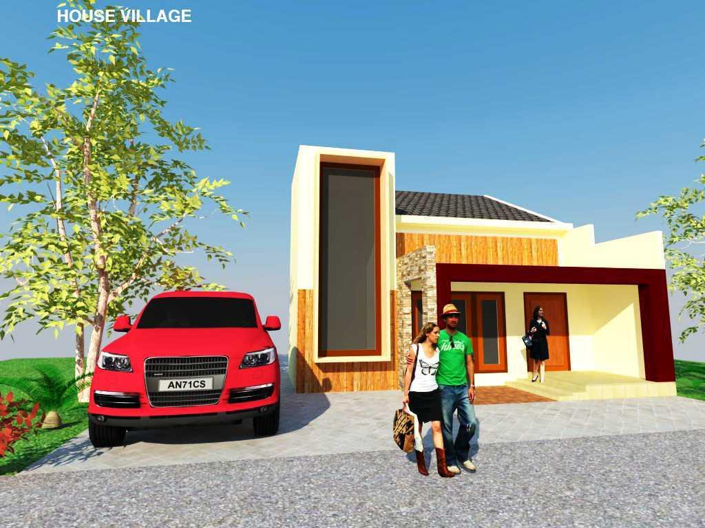 Rahman Efendi House Village Kabupaten Boyolali, Jawa Tengah, Indonesia Tawangmangu, Kabupaten Karanganyar, Jawa Tengah, Indonesia View-4  <P>Half Render</p> 30423