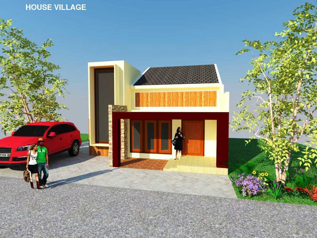 Rahman Efendi House Village Kabupaten Boyolali, Jawa Tengah, Indonesia Tawangmangu, Kabupaten Karanganyar, Jawa Tengah, Indonesia View-5  <P>Half Render</p> 30424