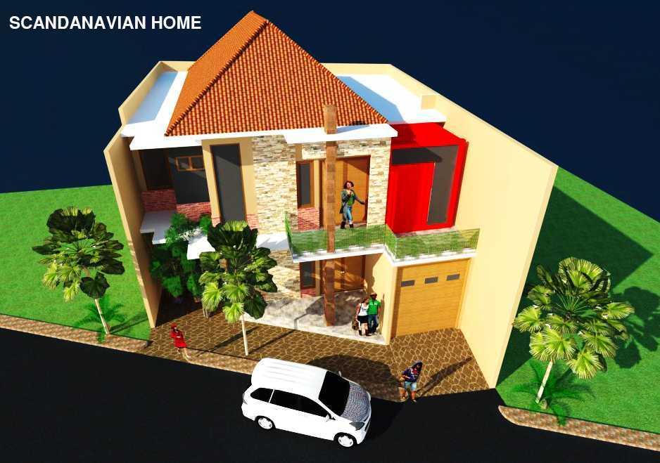Rahman Efendi Private Home 3 Cikarang, Bekasi, Jawa Barat, Indonesia Cikarang, Bekasi, Jawa Barat, Indonesia View-4  <P>Half Render</p> 31117