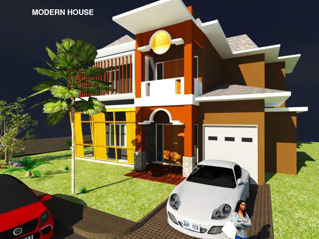Rahman Efendi Private House 4 Bekasi, Tambelang, Bekasi, Jawa Barat, Indonesia Bekasi, Tambelang, Bekasi, Jawa Barat, Indonesia View-3  Half Render 31597