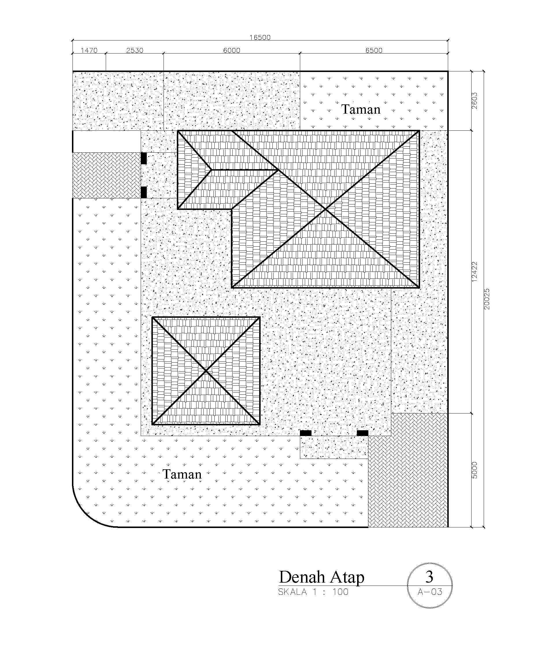 Rahman Efendi Private House 4 Bekasi, Tambelang, Bekasi, Jawa Barat, Indonesia Bekasi, Tambelang, Bekasi, Jawa Barat, Indonesia Denah-Atap1 Modern  33378
