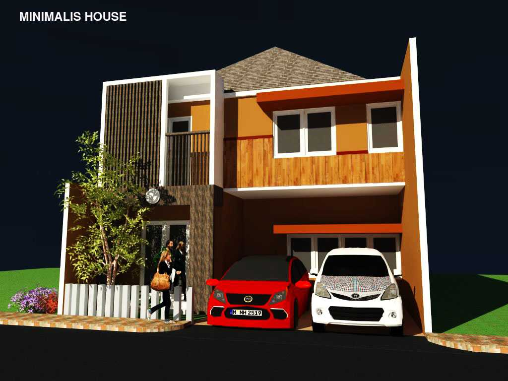 Rahman Efendi Private Home 7 Kabupaten Karawang, Jawa Barat, Indonesia Kabupaten Karawang, Jawa Barat, Indonesia Facade View Minimalis  48473