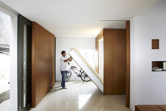 Sontang M Siregar Compact House  Jakarta, Indonesia Jakarta, Indonesia Rollaway Bed   6044