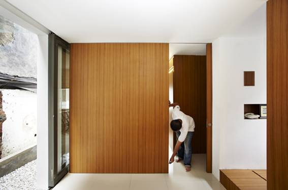 Sontang M Siregar Compact House  Jakarta, Indonesia Jakarta, Indonesia Room Partition   6049