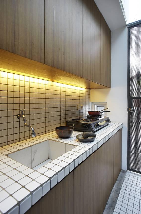 Sontang M Siregar Compact House  Jakarta, Indonesia Jakarta, Indonesia Kitchen Set   6057