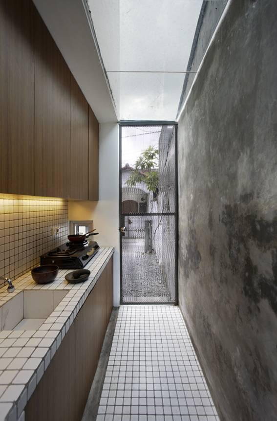 Sontang M Siregar Compact House  Jakarta, Indonesia Jakarta, Indonesia Kitchen Room   6058