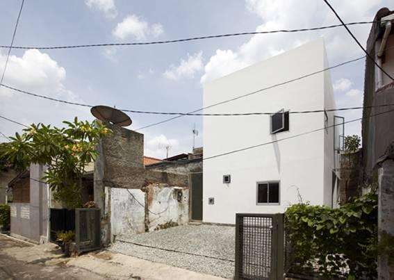 Sontang M Siregar Compact House  Jakarta, Indonesia Jakarta, Indonesia Compact House Side House   6080