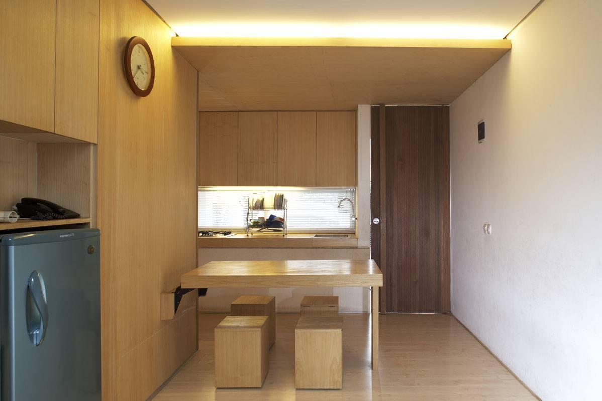 Sontang M Siregar 51 Sqm House Jakarta, Indonesia Jakarta, Indonesia Folded-Dining-Table-2 Minimalis  6093