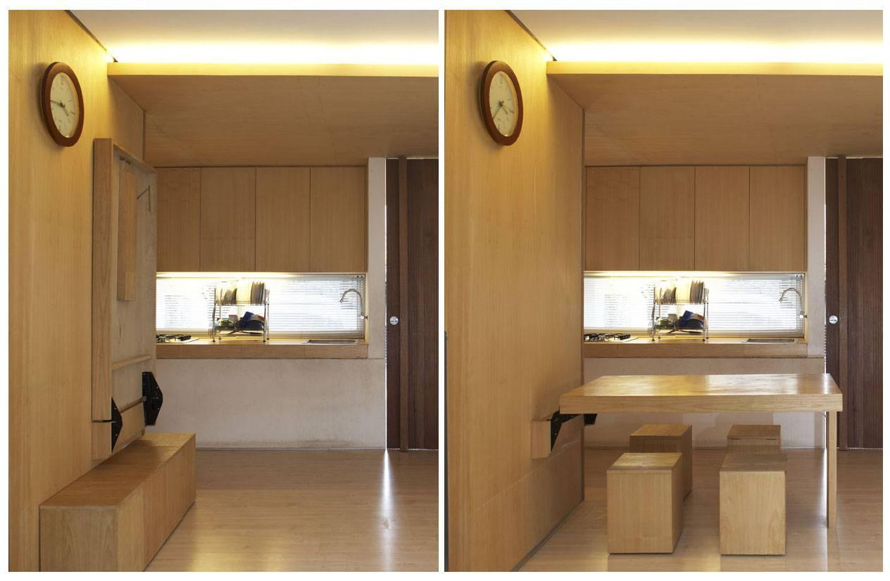 Sontang M Siregar 51 Sqm House Jakarta, Indonesia Jakarta, Indonesia Folded-Dining-Table Minimalis  6094