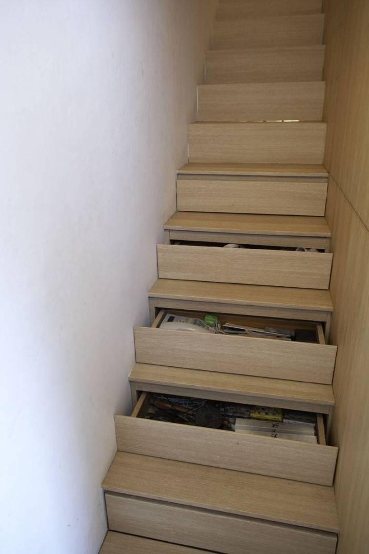 Sontang M Siregar 51 Sqm House Jakarta, Indonesia Jakarta, Indonesia Stairs-1 Minimalis  6100