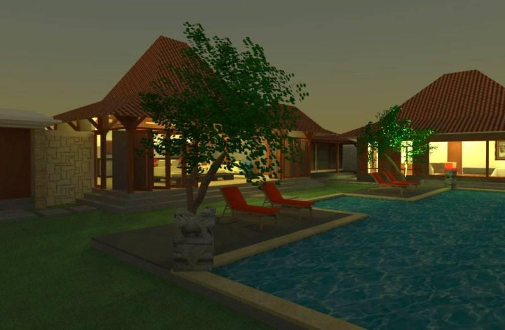 Civarch Design Studio Villa Semar At Canggu Bali, Indonesia Bali, Indonesia Villa-At-Night Tradisional  5612