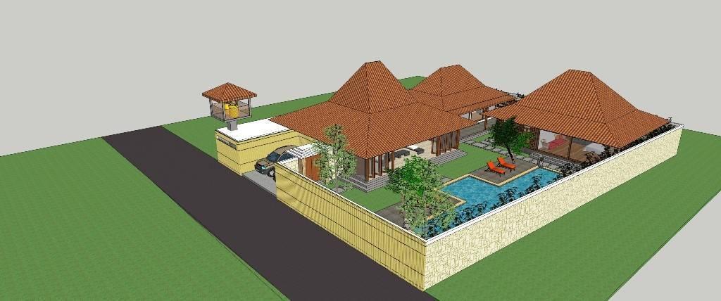 Civarch Design Studio Villa Semar At Canggu Bali, Indonesia Bali, Indonesia Bird-Eye-View Tradisional  5620