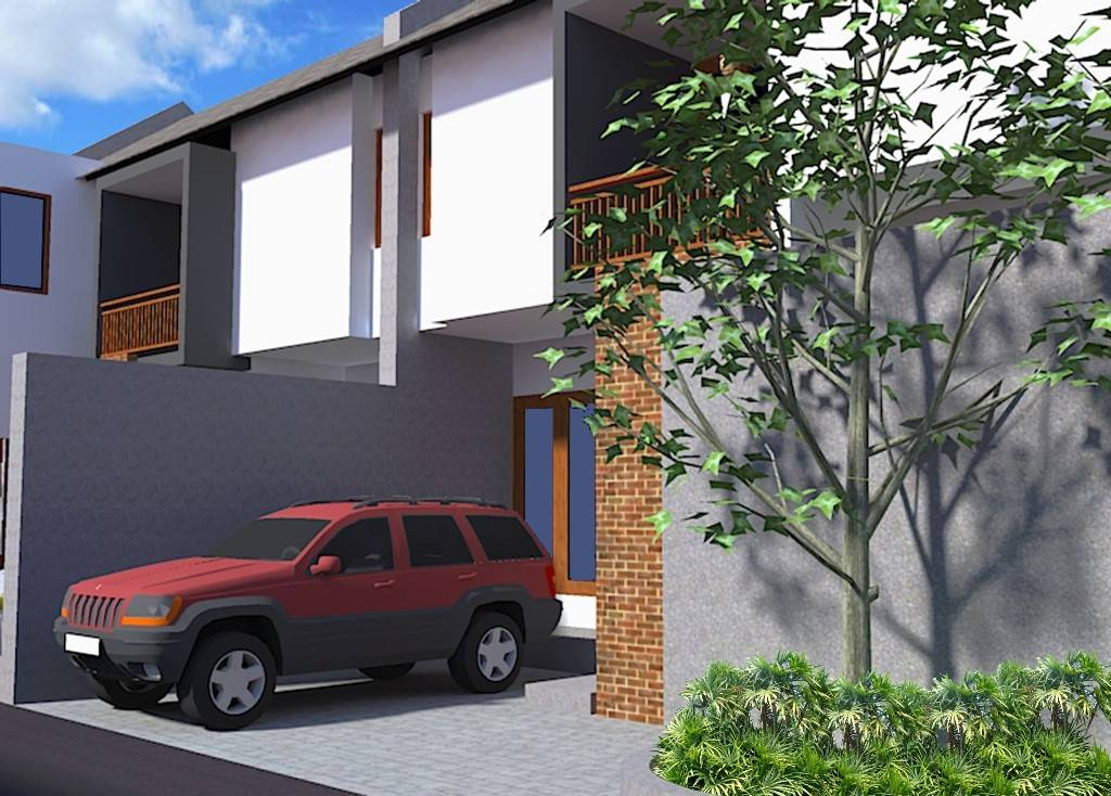 Civarch Design Studio Tukad Badung Residence Bali, Indonesia Bali, Indonesia Perspective-3 Minimalis  5626
