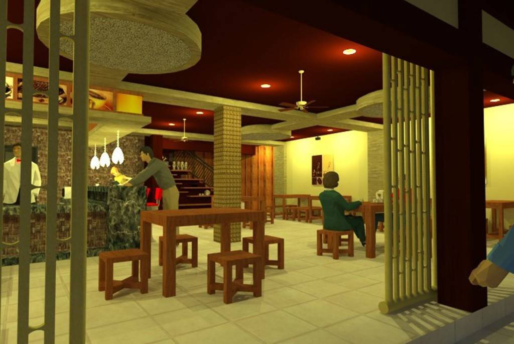 Civarch Design Studio Kopitiam 78 Cafe At Singaraja Bali, Indonesia Bali, Indonesia Interior-1 Tropis  5641
