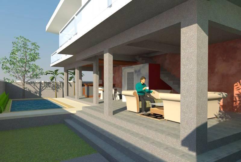 Civarch Design Studio Ramini House At Canggu Bali, Indonesia Bali, Indonesia Perspective-1 Kontemporer  5644