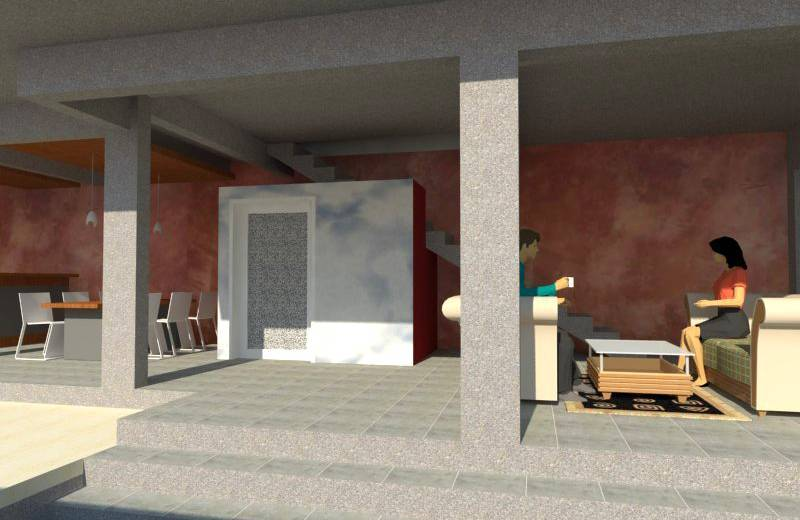 Civarch Design Studio Ramini House At Canggu Bali, Indonesia Bali, Indonesia Perspective-3 Kontemporer  5646