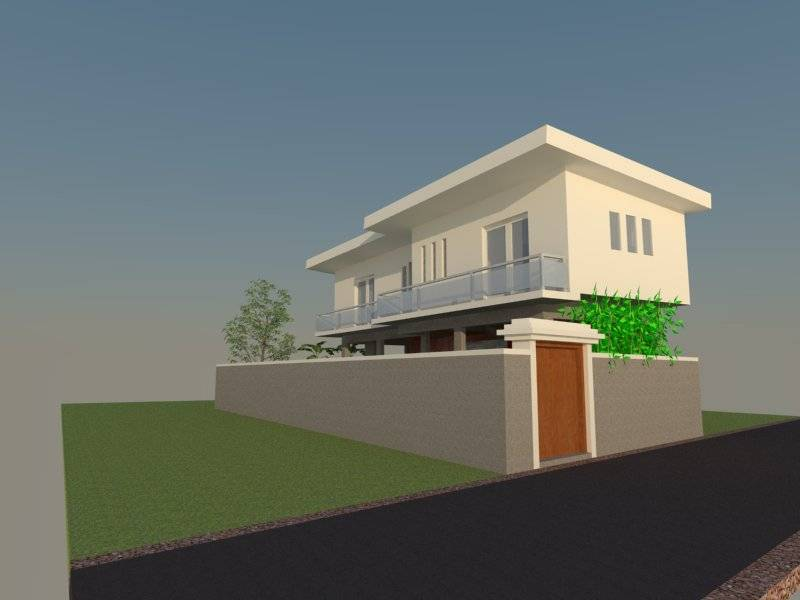 Civarch Design Studio Ramini House At Canggu Bali, Indonesia Bali, Indonesia Perspective-4 Kontemporer  5647