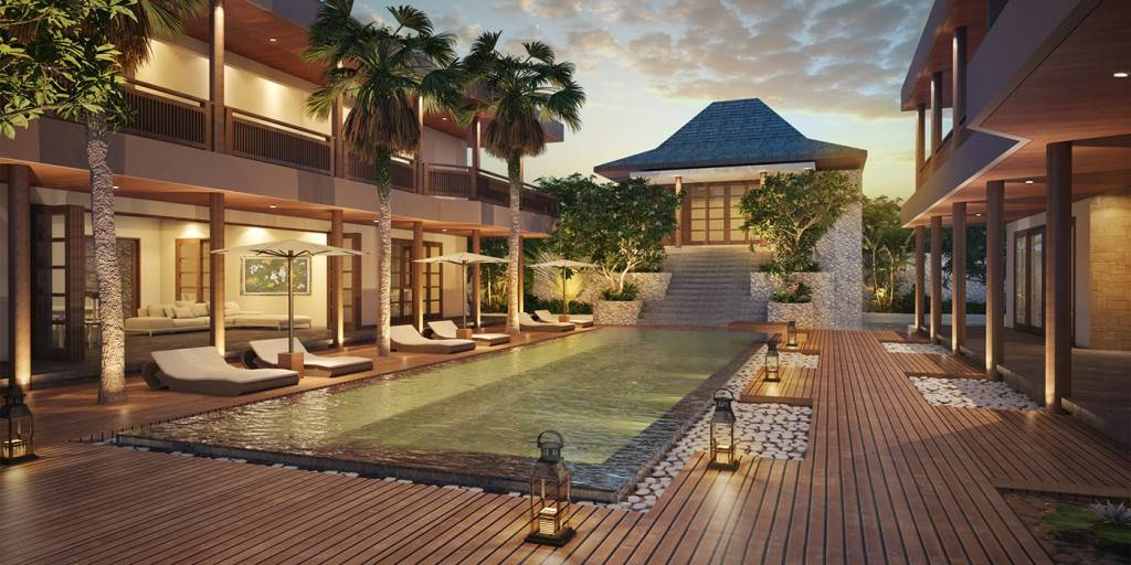 Civarch Design Studio Jimba Villa At Umalas Bali, Indonesia Bali, Indonesia Perspective-View-1 Tropis  5677