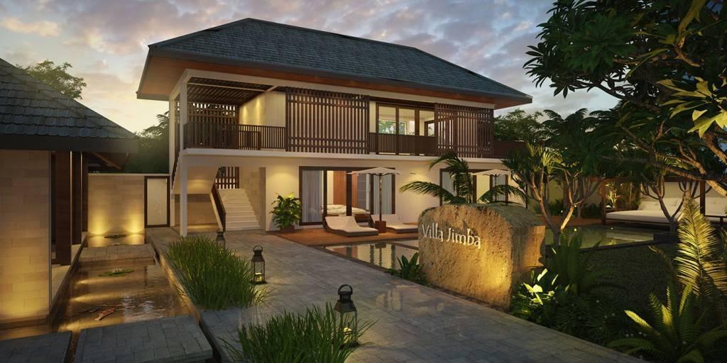 Civarch Design Studio Jimba Villa At Umalas Bali, Indonesia Bali, Indonesia Perspective-View-2 Tropis  5678