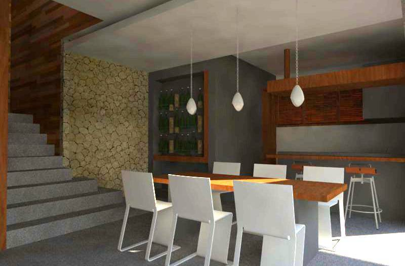 Civarch Design Studio P Private House At Denpasar Bali, Indonesia Bali, Indonesia Perspective-Interior-1   5691
