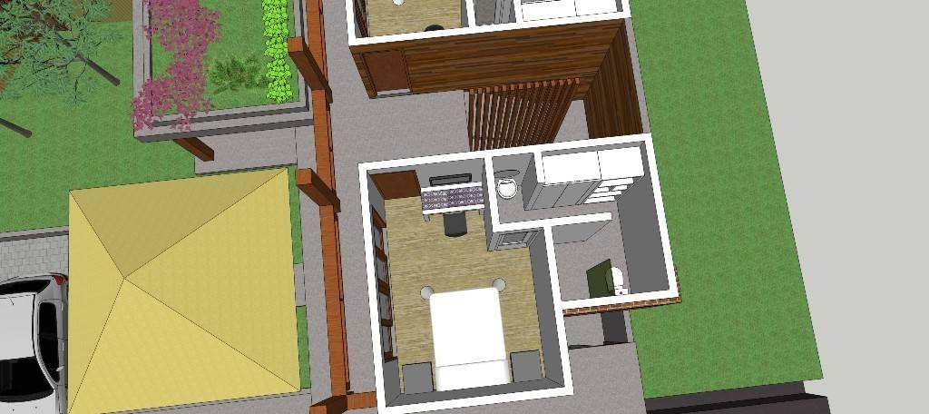 Civarch Design Studio P Private House At Denpasar Bali, Indonesia Bali, Indonesia Perspective-Interior-4   5694