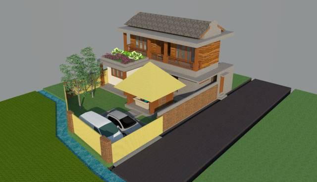 Civarch Design Studio P Private House At Denpasar Bali, Indonesia Bali, Indonesia Bird-Eye-View-1   5696