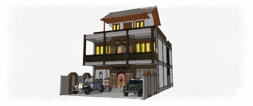 Civarch Design Studio Umah Lumut At Denpasar Bali, Indonesia Bali, Indonesia Facade-View   5701