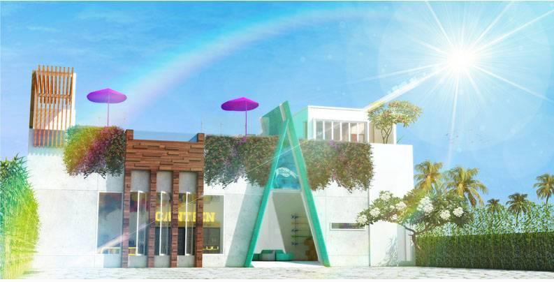 Prima Design Hello Sunday Villa And Suites Bali, Indonesia Bali, Indonesia Front-View   5754
